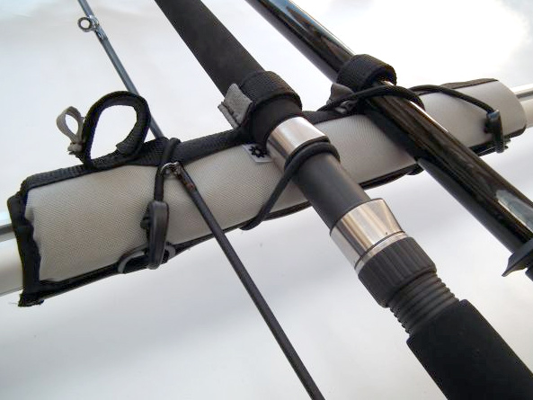 Fishing pole roof rack holder 28 images rhino rack for Roof rack fishing rod holder