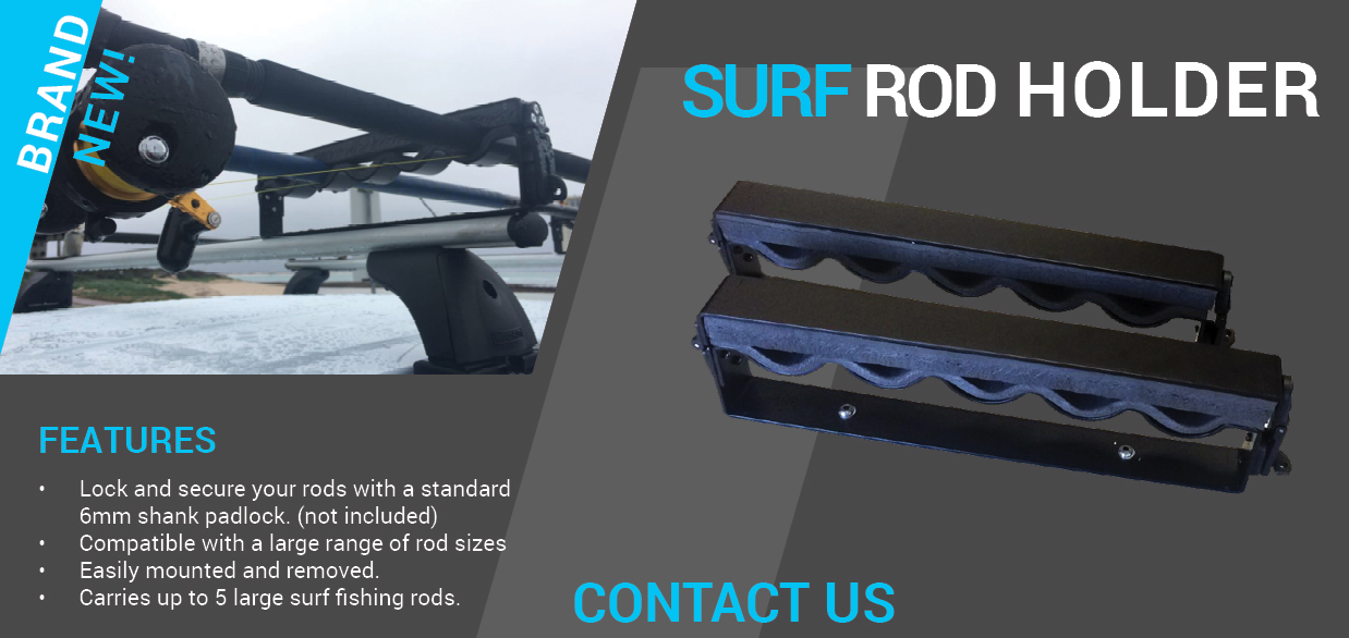 Surf Rod Holder Roof Rack World
